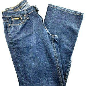 Riders Bootcut Low Rise Dark Wash Jeans 6M BI37
